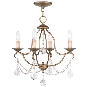 Chesterfield - Four Light Mini Chandelier