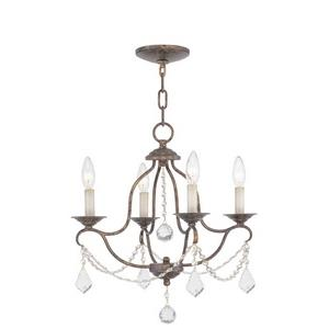 Chesterfield - Four Light Mini-Chandelier