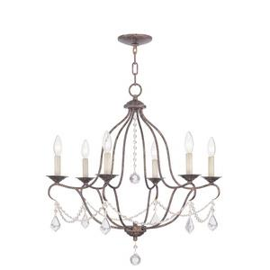 Chesterfield - Six Light Chandelier