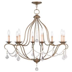 Chesterfield - Eight Light Chandelier