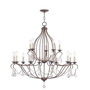 Chesterfield - Fifteen Light Chandelier