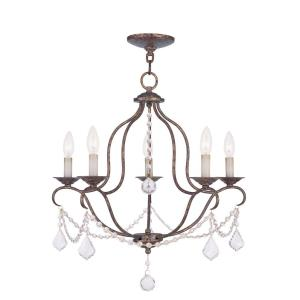 Chesterfield - Five Light Chandelier