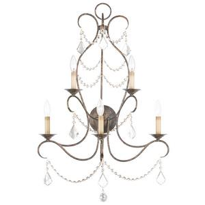 Chesterfield - Five Light Wall Sconce
