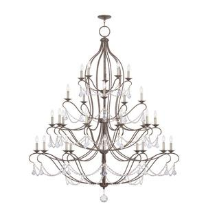Chesterfield - Thirty Light 4-Tier Chandelier