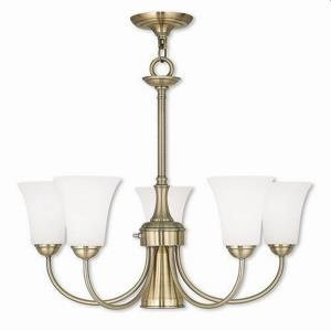 Ridgedale - Six Light Dinette Chandelier