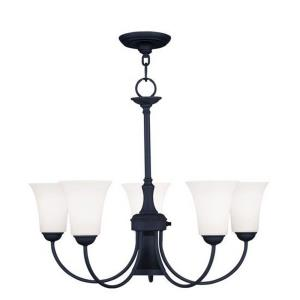 Ridgedale - 6 Light Dinette Chandelier in Ridgedale Style - 25.5 Inches wide by 21 Inches high