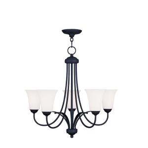 Ridgedale - 5 Light Chandelier in Ridgedale Style - 25.5 Inches wide by 22 Inches high