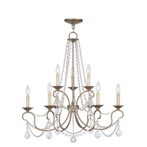 Pennington - 9 Light Chandelier in Pennington Style - 28 Inches wide by 30 Inches high