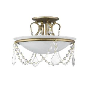 Pennington - Two Light Semi-Flush Mount