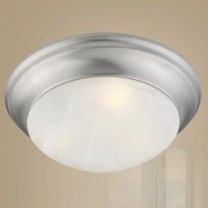 Transitional 2 Light Ceiling Mount