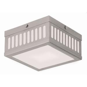 Prentice - 2 Light Flush Mount in Prentice Style - 7.5 Inches wide by 3.75 Inches high