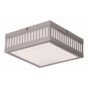 Prentice - 3 Light Flush Mount in Prentice Style - 10.5 Inches wide by 3.75 Inches high