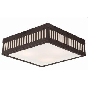Prentice - 3 Light Flush Mount in Prentice Style - 12.5 Inches wide by 3.75 Inches high