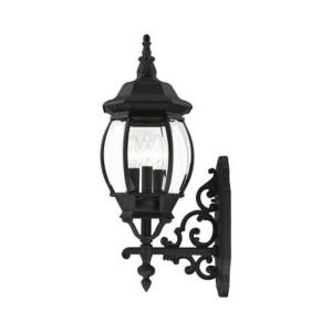 Frontenac - 3 Light Outdoor Wall Lantern in Frontenac Style - 8.25 Inches wide by 23 Inches high