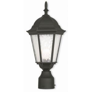 Hamilton - One Light Outdoor Post-Top Lantern