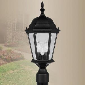 Hamilton - Three Light Exterior Lantern