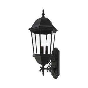 Hamilton - 28.75 Inch 3 Light Outdoor Wall Lantern