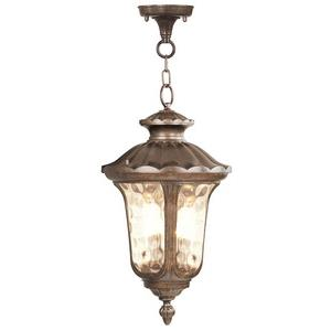 Oxford - Three Light Outdoor Chain Hanging Lantern