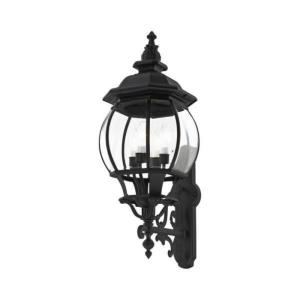 Frontenac - 4 Light Outdoor Wall Lantern in Frontenac Style - 11 Inches wide by 30 Inches high