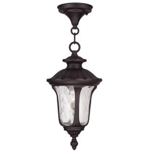 Oxford - 1 Light Outdoor Pendant Lantern in Oxford Style - 7.25 Inches wide by 14 Inches high