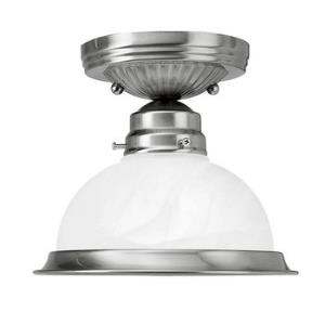 Home Basics Traditional 1 Light Ceiling Mount