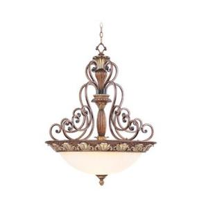 Savannah - Four Light Inverted Pendant