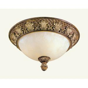 Savannah - Three Light Flush Mount