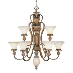 Savannah - Two Tier Ten Light Chandelier