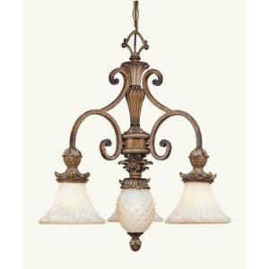 Savannah - Single Tier Four Light Chandelier