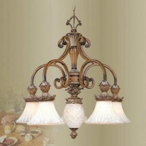 Savannah - Six Light 1-Tier Chandelier