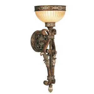 Seville - 1 Light Wall Sconce in Seville Style - 7.25 Inches wide by 19.75 Inches high