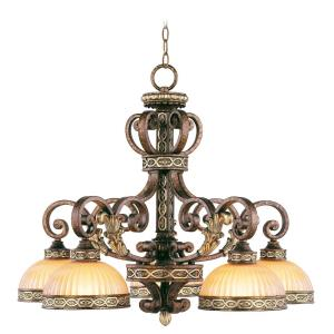 Seville - 5 Light Chandelier in Seville Style - 27.75 Inches wide by 22.75 Inches high