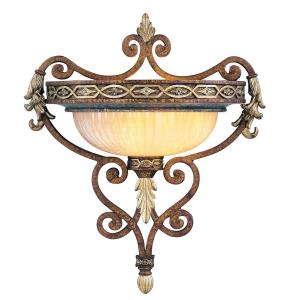 Seville - 1 Light Wall Sconce in Seville Style - 16 Inches wide by 18.5 Inches high