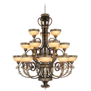 Seville - 18 Light Chandelier in Seville Style - 44 Inches wide by 53.25 Inches high