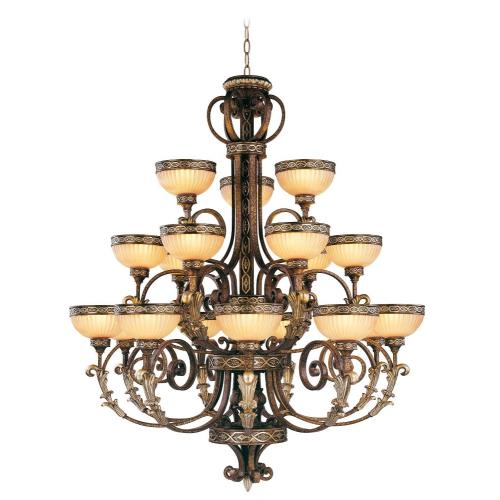 Livex Lighting 8539-64 Seville - Eighteen Light Chandelier