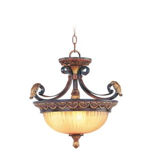 Villa Verona - 3 Light Convertible Inverted Pendant