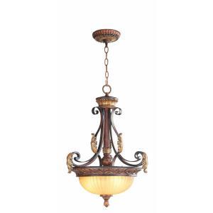 Villa Verona - 3 Light Inverted Pendant