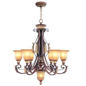 Villa Verona - Six Light Chandelier