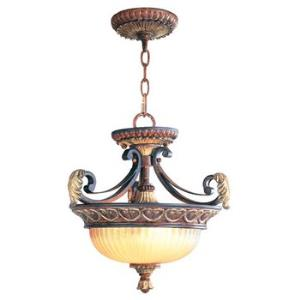 Villa Verona Traditional 2 Light Ceiling Mount
