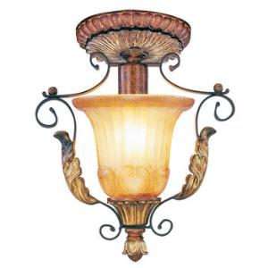 Villa Verona Traditional 1 Light Ceiling Mount