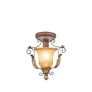 Villa Verona - 1 Light Semi-Flush Mount