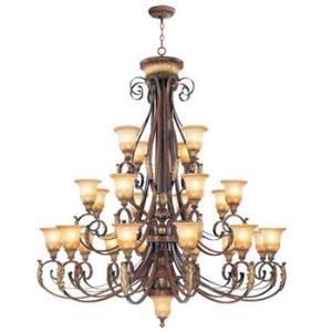 Villa Verona - Twentyfour Light Chandelier
