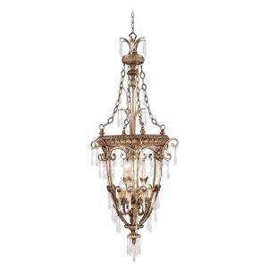 La Bella - 9 Light Foyer in La Bella Style - 24 Inches wide by 60 Inches high