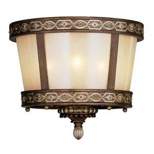 Seville - Three Light Semi-Flush Mount