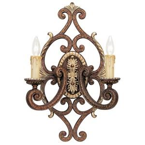 Seville - Two Light Wall Sconce