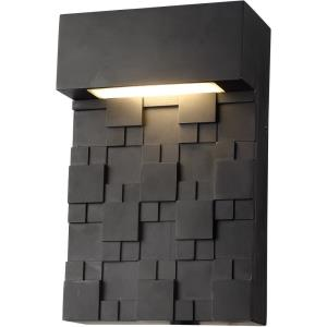 "Keefe - 9.85"" 10.5W 1 LED Outdoor Wall Mount"