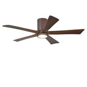 "Irene-5HLK - 52"" Flush Mount Ceiling Fan with Light Kit"