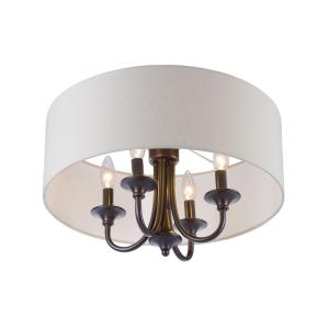 Bongo - Four Light Semi Flush Mount