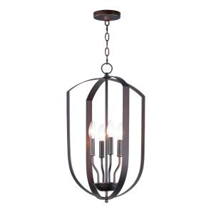 Provident-4 Light Chandelier-14.5 Inches wide by 23.5 inches high