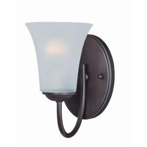 Logan-One Light Wall Sconce in Modern style-5 Inches wide by 8.5 inches high